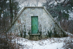 Shed in forest Stock Photography