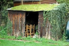 Shed, House, Outdoor Structure, Grass Royalty Free Stock Image