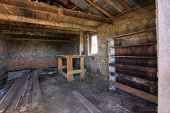 Shed interior Royalty Free Stock Photography