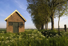 Shed near Dordrecht Stock Images