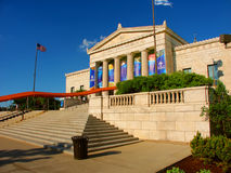Shedd Aquarium Chicago Illinois. Chicago, USA - June 07, 2005: View of the main entrance to the Shedd Aquarium near downtown Chicago, Illinois.  The Shedd Stock Images