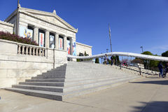 The Shedd Aquarium in Chicago. CHICAGO, ILLINOIS, CIRCA MAY 2016. The Shedd Aquarium in Chicago is one of the many top attractions in the city and is often Royalty Free Stock Photos
