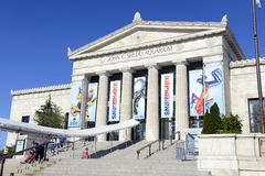 The Shedd Aquarium in Chicago. CHICAGO, ILLINOIS, CIRCA MAY 2016. The Shedd Aquarium in Chicago is one of the many top attractions in the city and is often Royalty Free Stock Photography