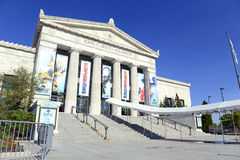 The Shedd Aquarium in Chicago. CHICAGO, ILLINOIS, CIRCA MAY 2016. The Shedd Aquarium in Chicago is one of the many top attractions in the city and is often Royalty Free Stock Image