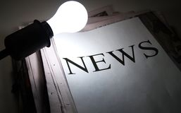 Free Shedding Light On News Stock Image - 4226971