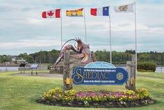 Shediac, Нью-Брансуик, Канада Стоковые Фотографии RF