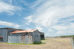 Sheds on The Farm Royalty Free Stock Photos