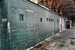 Sheds. Venetian utility rooms, sheds, architecture of Venice Royalty Free Stock Photos