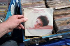 Sheena Easton - For Your Eyes Only Royalty Free Stock Images