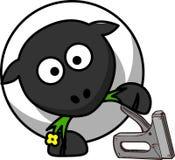 Sheep, Animal, Office, Stapler Royalty Free Stock Photography