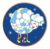2015 Sheep Royalty Free Stock Photography