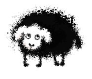 Sheep Blob Royalty Free Stock Photos