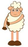 Sheep cartoon Royalty Free Stock Photography