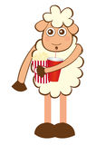 Sheep cartoon Stock Photography