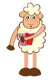 Sheep cartoon Stock Photography
