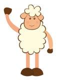 Sheep cartoon Royalty Free Stock Photo