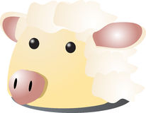 Sheep cartoon Royalty Free Stock Photography