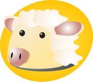 Sheep cartoon Royalty Free Stock Image