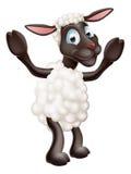 Sheep cartoon character Royalty Free Stock Image