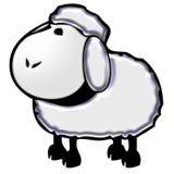 Sheep cartoon illustration Royalty Free Stock Photos