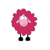 Sheep cartoon  part two Stock Image