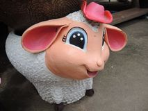 Sheep for decoration. Stock Photography