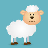 Sheep design Stock Image