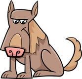 Sheep dog cartoon illustration Royalty Free Stock Images