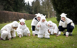 Sheep family Stock Photography