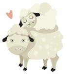 Sheep family Royalty Free Stock Image