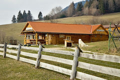 Sheep farm Pastierska. Stock Image