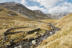Sheep Fold and Dam Royalty Free Stock Photography