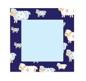 Sheep frame Stock Photo
