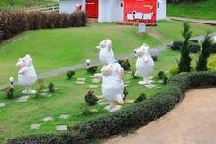 Sheep garden Stock Photography