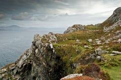 Sheep head, ireland. A scenic view of sheep head, ireland royalty free stock photos