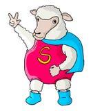 Sheep hero Royalty Free Stock Photo