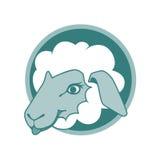 Sheep icon design2 stock photography
