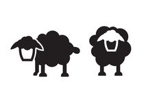 Sheep icon Royalty Free Stock Photography