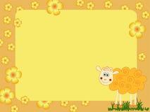 Sheep illustration Royalty Free Stock Images