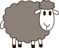 Sheep. This image is a  illustration and can be scaled to any size without loss of resolution Royalty Free Stock Photography