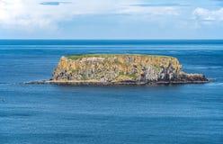Sheep Island in Northern Ireland, UK Royalty Free Stock Photos