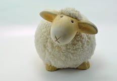 Sheep made from ceramic Royalty Free Stock Photo