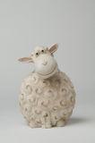 Sheep Moneybox. A moneybox in the form of a sheep made out of pottery Stock Photo