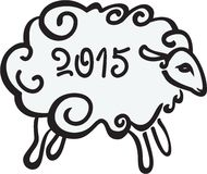 The Sheep 2015 Royalty Free Stock Photos