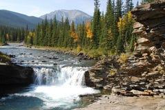 Sheep river waterfall Stock Image