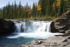 Sheep river waterfalls Stock Image