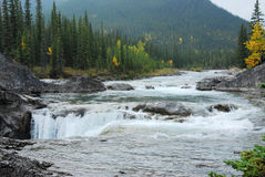 Sheep river waterfalls Stock Photos