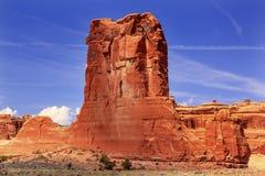 Free Sheep Rock Formation Canyon Arches National Park Moab Utah Stock Photos - 42824403
