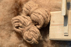 Sheep's wool Stock Photos