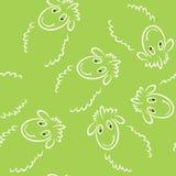 Sheep seamless Royalty Free Stock Photos